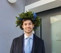 Enrico Zannarini laureato della sede di Rovigo del corso di laurea magistrale in Giurisprudenza a doppio titolo con l'Universidad de Granada